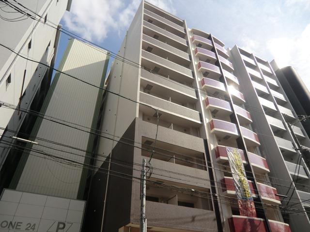 大阪府大阪市浪速区、今宮戎駅徒歩7分の築3年 10階建の賃貸マンション