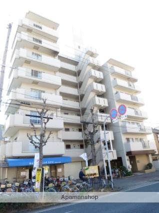 大阪府大阪市平野区、喜連瓜破駅徒歩19分の築32年 8階建の賃貸マンション
