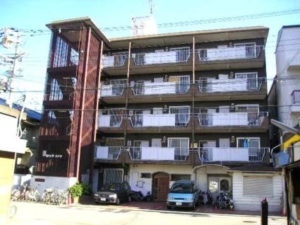 大阪府大阪市東住吉区、針中野駅徒歩25分の築36年 5階建の賃貸マンション