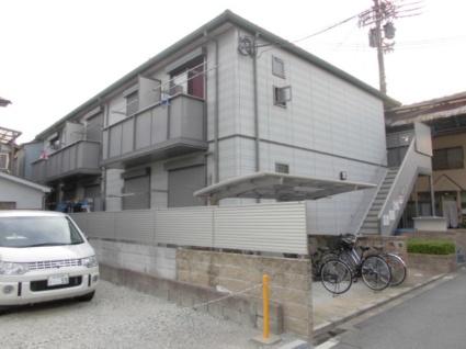大阪府大阪市東住吉区、針中野駅徒歩25分の築11年 2階建の賃貸アパート