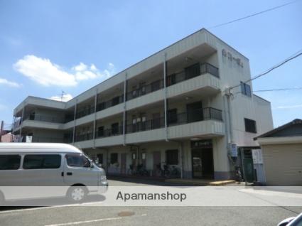 大阪府大阪市平野区、平野駅徒歩18分の築30年 3階建の賃貸マンション