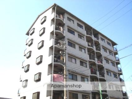 大阪府大阪市平野区、出戸駅徒歩12分の築26年 7階建の賃貸マンション