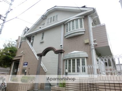大阪府大阪市平野区、出戸駅徒歩11分の築28年 2階建の賃貸アパート