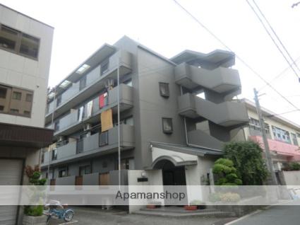 大阪府大阪市平野区、出戸駅徒歩7分の築30年 4階建の賃貸マンション