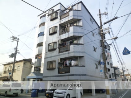 大阪府大阪市生野区、桃谷駅徒歩16分の築26年 7階建の賃貸マンション