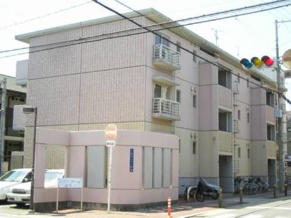 大阪府大阪市東住吉区、東部市場前駅徒歩11分の築21年 3階建の賃貸マンション