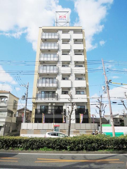 大阪府大阪市東住吉区、針中野駅徒歩11分の新築 8階建の賃貸マンション