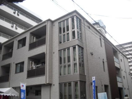 大阪府大阪市阿倍野区、河堀口駅徒歩8分の築8年 3階建の賃貸アパート