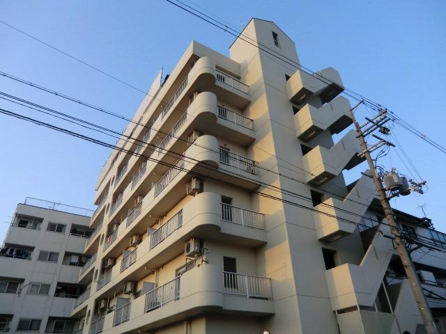 大阪府大阪市東住吉区、平野駅徒歩17分の築26年 6階建の賃貸マンション