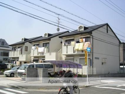 大阪府大阪市東住吉区、針中野駅徒歩14分の築24年 2階建の賃貸アパート