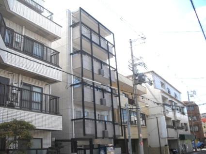 大阪府大阪市東住吉区、北田辺駅徒歩8分の築28年 5階建の賃貸マンション