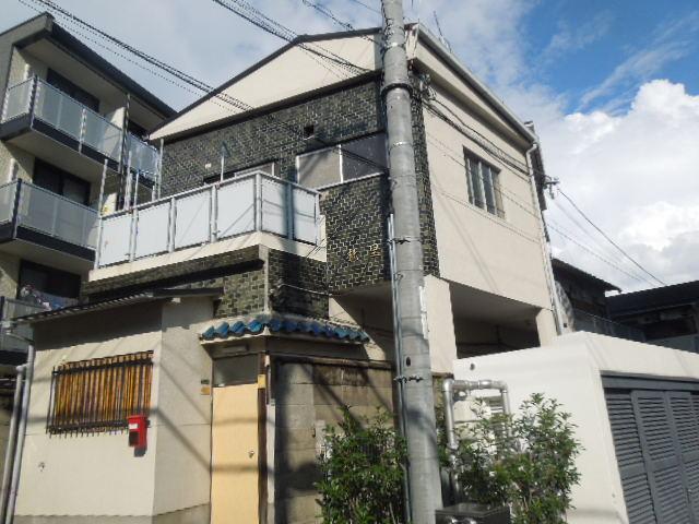大阪府大阪市生野区、桃谷駅徒歩8分の築44年 2階建の賃貸マンション