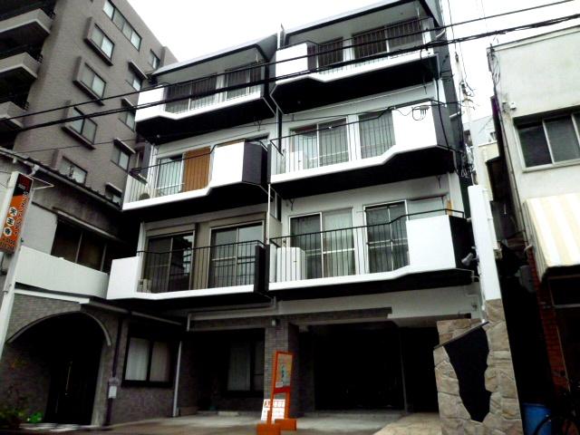 大阪府大阪市天王寺区、寺田町駅徒歩10分の築45年 4階建の賃貸マンション
