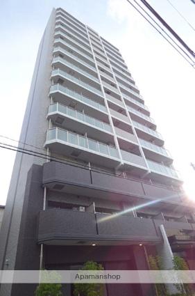 大阪府大阪市東成区、鶴橋駅徒歩6分の築1年 15階建の賃貸マンション