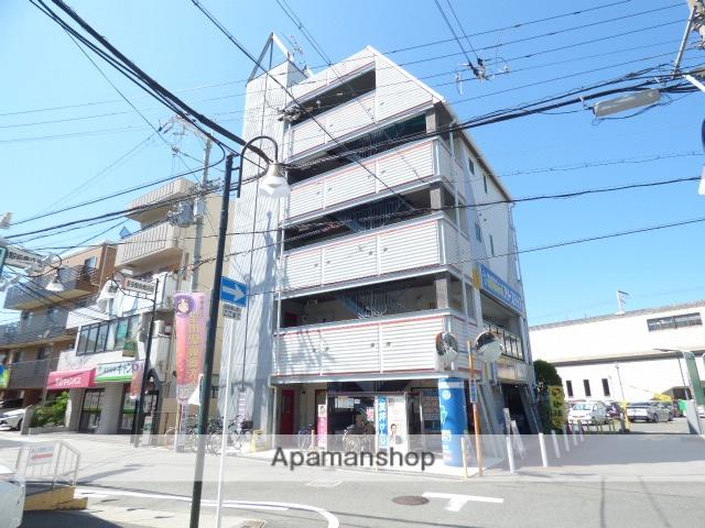 大阪府交野市、星田駅徒歩1分の築17年 5階建の賃貸マンション