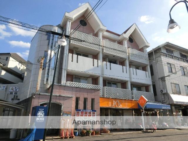 大阪府交野市、星田駅徒歩3分の築25年 4階建の賃貸マンション