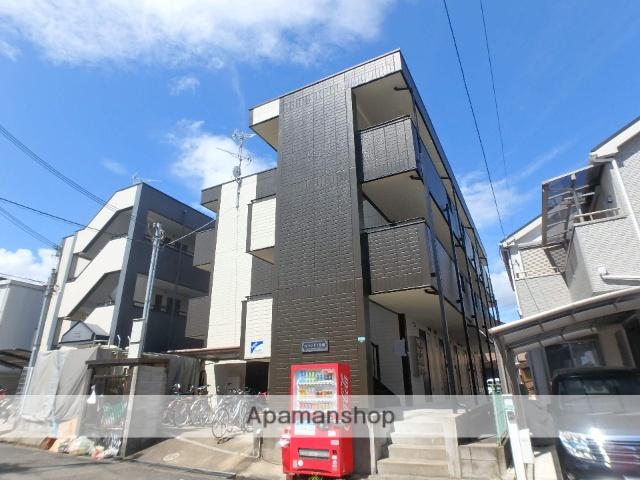 大阪府枚方市、長尾駅徒歩19分の築19年 3階建の賃貸マンション