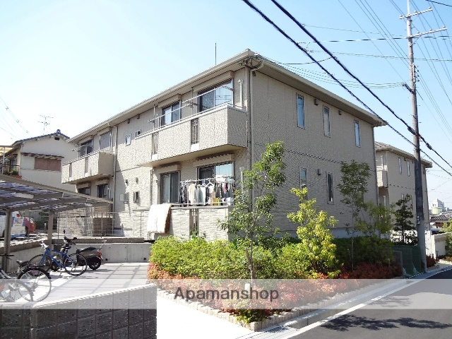 大阪府枚方市、松井山手駅徒歩36分の築4年 2階建の賃貸アパート