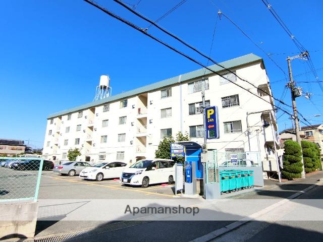大阪府枚方市、津田駅徒歩14分の築40年 4階建の賃貸マンション
