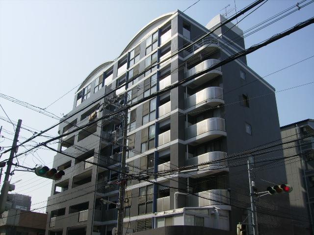 大阪府大阪市城東区、京橋駅徒歩15分の築25年 9階建の賃貸マンション