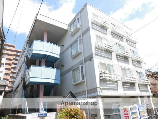 大阪府大阪市鶴見区、今福鶴見駅徒歩16分の築25年 4階建の賃貸マンション