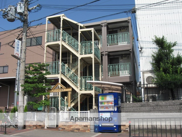 大阪府門真市、鴻池新田駅徒歩28分の築15年 3階建の賃貸マンション