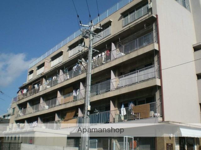 大阪府大阪市鶴見区、今福鶴見駅徒歩14分の築43年 5階建の賃貸マンション