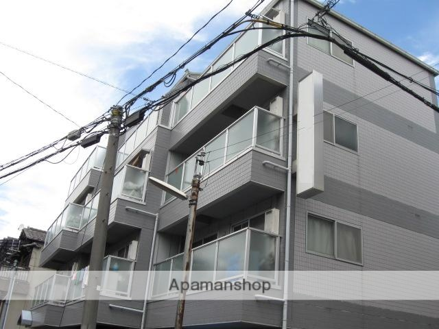 大阪府大阪市鶴見区、徳庵駅徒歩20分の築23年 4階建の賃貸マンション