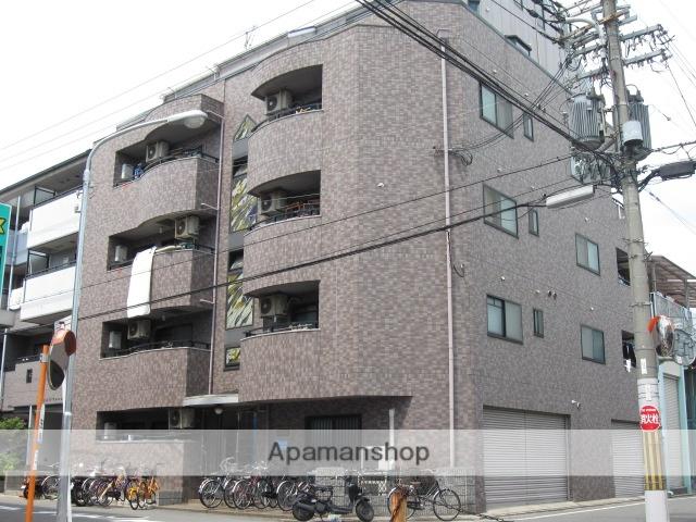 大阪府守口市、鶴見緑地駅徒歩17分の築22年 6階建の賃貸マンション