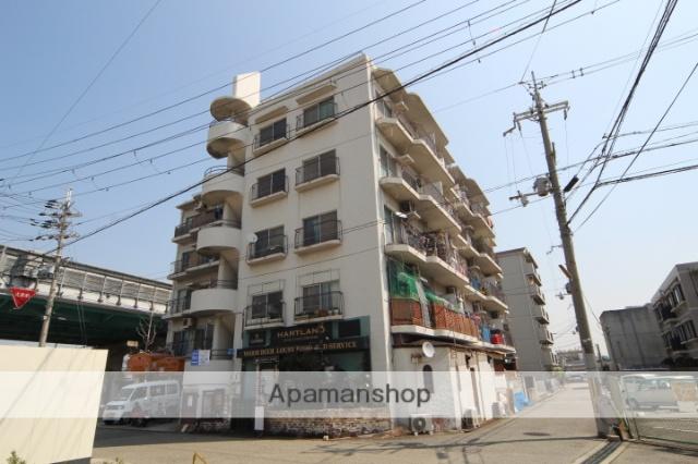 大阪府豊中市、豊中駅徒歩19分の築40年 5階建の賃貸マンション