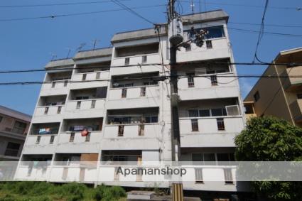 大阪府池田市、石橋駅徒歩10分の築43年 4階建の賃貸マンション