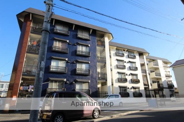 大阪府箕面市、桜井駅徒歩16分の築41年 4階建の賃貸マンション