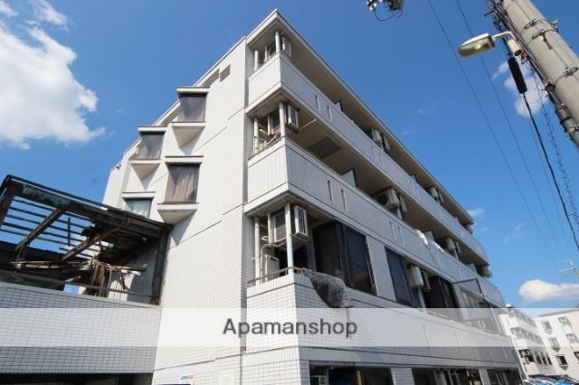 大阪府箕面市、桜井駅徒歩25分の築25年 4階建の賃貸マンション