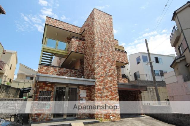 大阪府箕面市、牧落駅徒歩21分の築17年 4階建の賃貸マンション