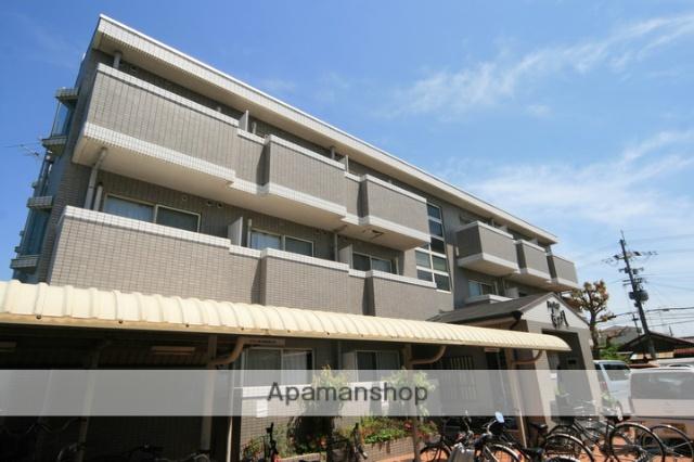 大阪府池田市、石橋駅徒歩8分の築22年 3階建の賃貸マンション