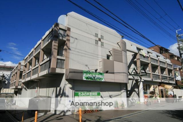 大阪府豊中市、蛍池駅徒歩2分の築28年 3階建の賃貸マンション