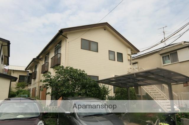 大阪府箕面市、石橋駅徒歩20分の築90年 2階建の賃貸アパート