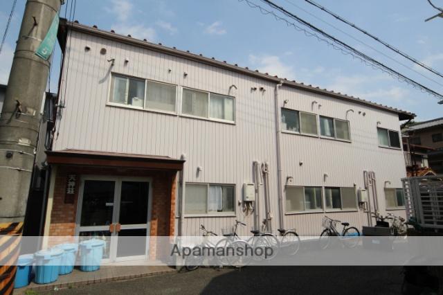 大阪府池田市、石橋駅徒歩7分の築36年 2階建の賃貸アパート