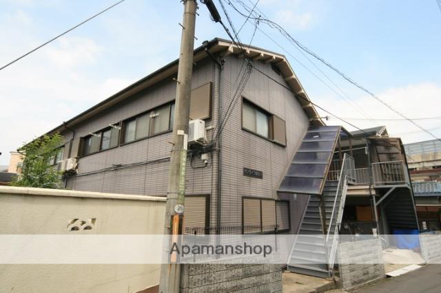 大阪府豊中市、石橋駅徒歩5分の築31年 2階建の賃貸アパート