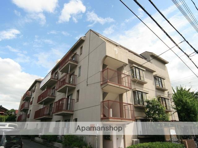 大阪府箕面市、桜井駅徒歩7分の築35年 4階建の賃貸マンション