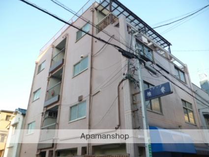 大阪府大阪市阿倍野区、南田辺駅徒歩11分の築48年 4階建の賃貸マンション