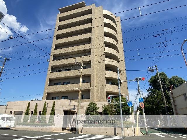 大阪府大阪市阿倍野区、帝塚山駅徒歩13分の築3年 10階建の賃貸マンション