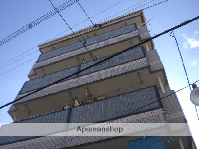 大阪府大阪市阿倍野区、昭和町駅徒歩6分の築28年 5階建の賃貸マンション