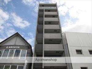 大阪府大阪市西成区、岸里駅徒歩4分の築8年 9階建の賃貸マンション