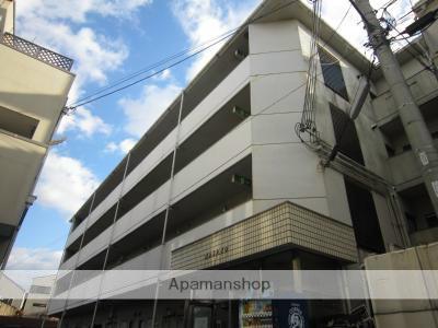 大阪府大阪市西成区、岸里駅徒歩10分の築27年 4階建の賃貸マンション