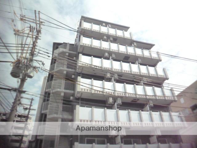 大阪府大阪市阿倍野区、南田辺駅徒歩10分の新築 7階建の賃貸マンション