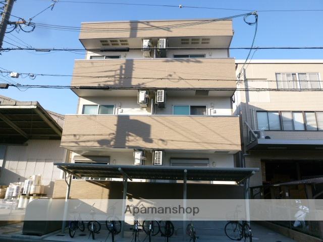 大阪府大阪市東住吉区、東部市場前駅徒歩17分の新築 3階建の賃貸アパート