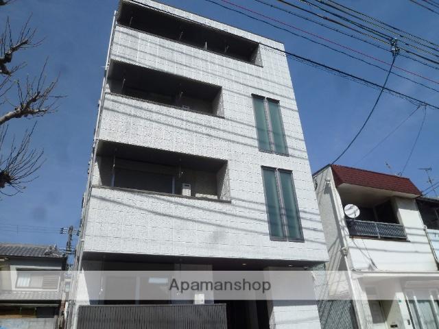 大阪府大阪市阿倍野区、西田辺駅徒歩5分の新築 4階建の賃貸マンション
