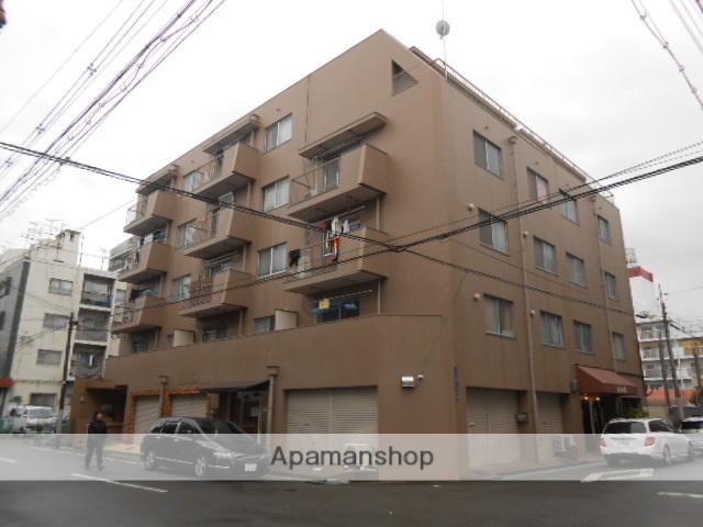 大阪府大阪市東住吉区、針中野駅徒歩10分の築43年 5階建の賃貸マンション