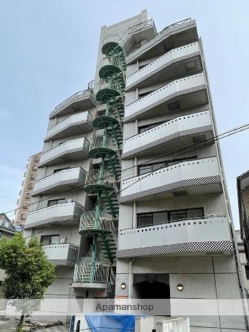 大阪府大阪市東住吉区、南田辺駅徒歩5分の築20年 9階建の賃貸マンション
